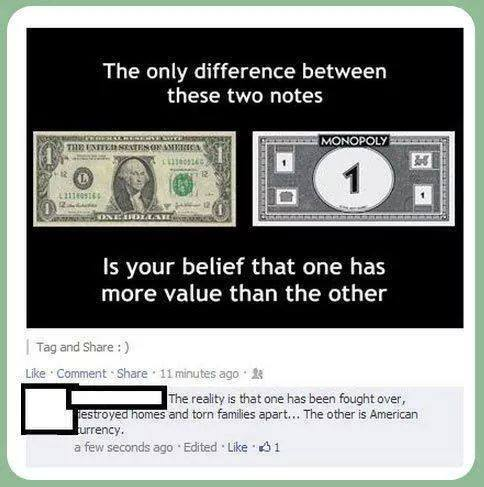 Monopoly and Real Notes