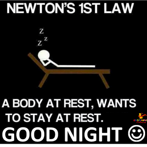 Newton's 1st law revised