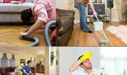 Nobody cleans a house faster