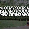 Socks Be Single