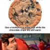 Spider Chip Cookies
