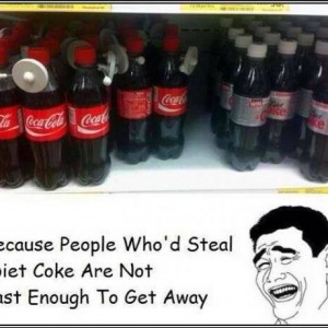 Stealing Diet Cokes