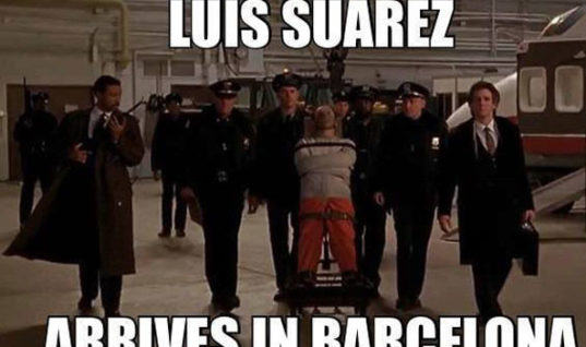Suarez Arrives