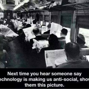 Technology making us Anti-Social