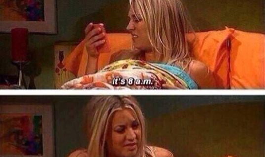 Waking up on Weekends be like
