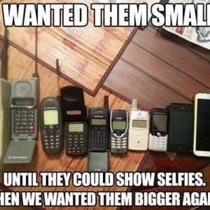 We wanted Mobile Phones to be smaller
