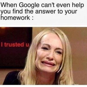 When Google can't find your answers