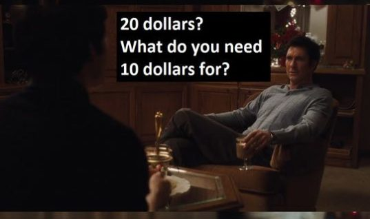 Whenever I Ask My Parents For Money