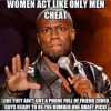 Women Act like only Men cheat