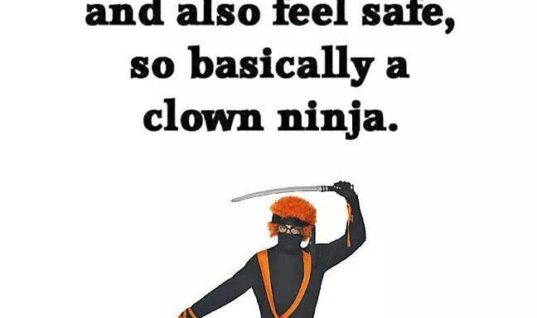 Women Want Clown Ninja