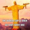 World Cup is over