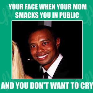 You in public with mom