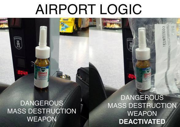 Airport Logic airport logic funny pictures, quotes, memes, funny images, funny,Funny Airport Quotes
