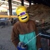 At a Welding Site