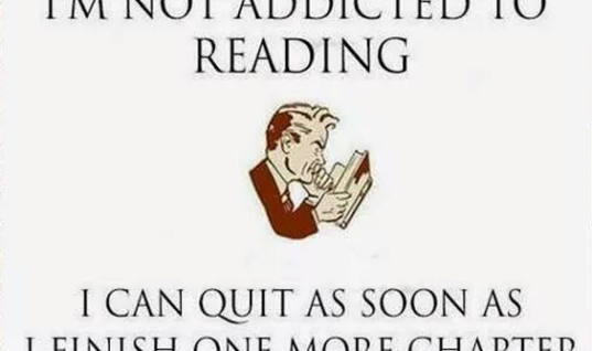 Book Reading Addiction