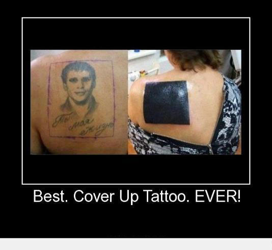 Cover up tattoo funny pictures quotes memes funny for Funny tattoo memes