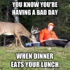 Dinner Eats your Lunch