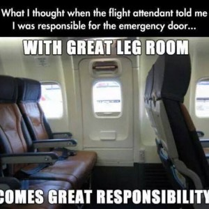 Funny Airplane Seat