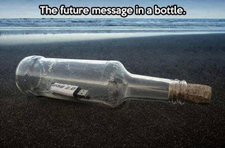 Future Message in Bottle