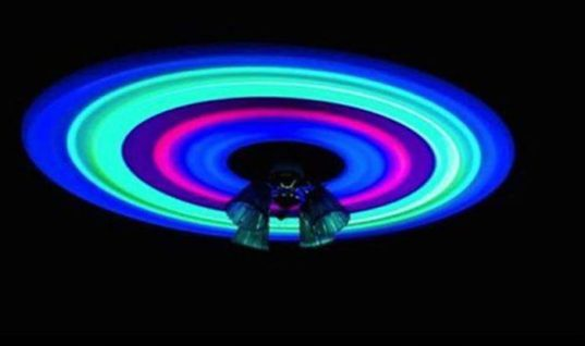 Glowsticks on Fan