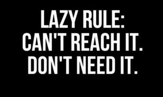 Lazy Rule