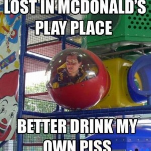Lost In McDonalds