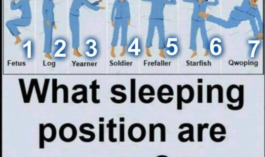 Most Popular Sleeping Positions