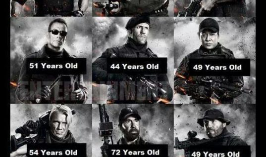 Old Action Heroes