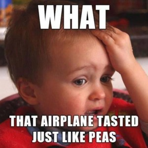 Peas Airplane