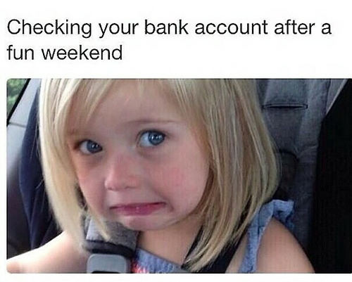 That going broke face
