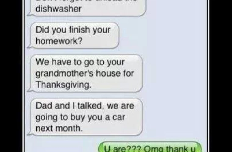 To Get Son's Attention