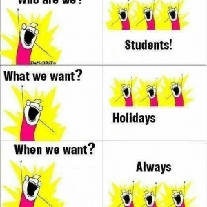 We are Students