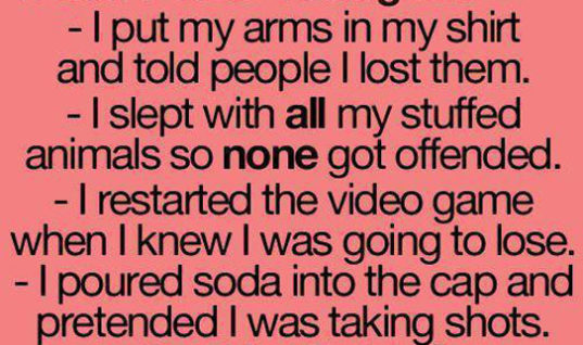 When I was younger..