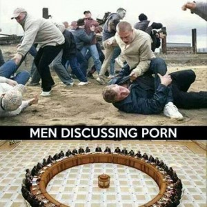 When Men Discuss