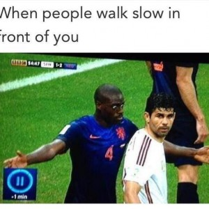 When People Walk Slow