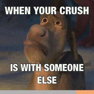 When your crush