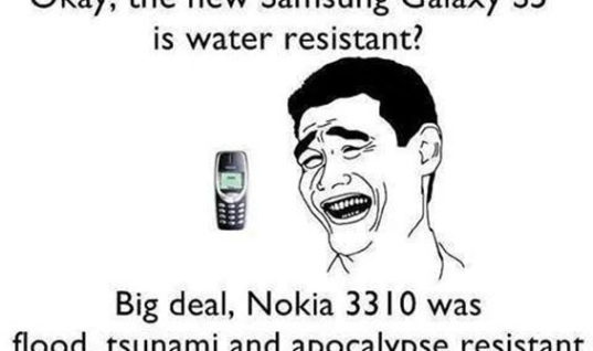 You Call Samsung Galaxy Water Resistant