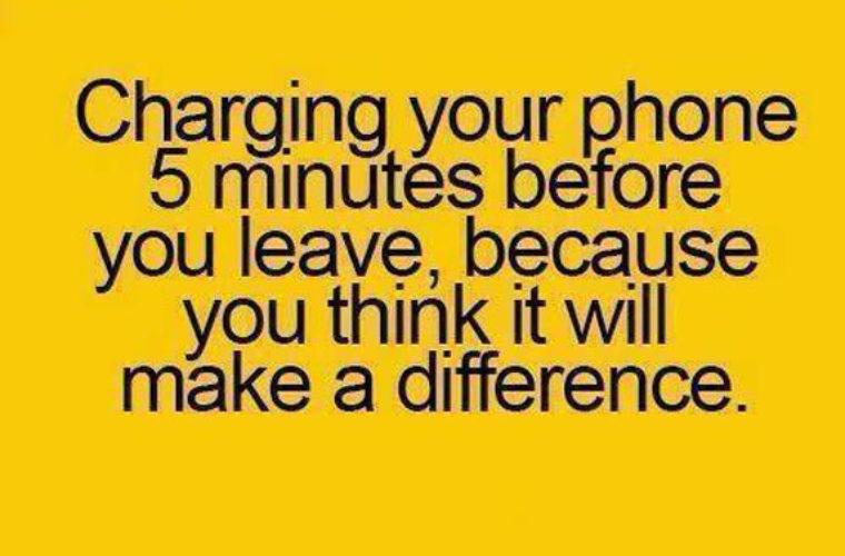 Charging your phone