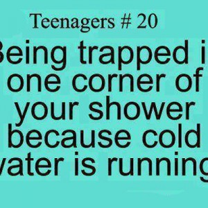 Cold Water is running