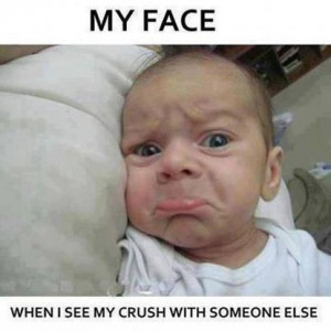 Crush with someone else