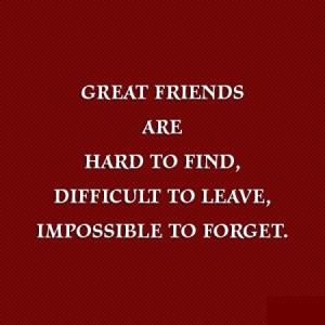 Great Friends Quote