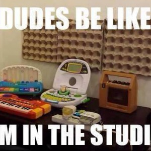 I'm in the Studio