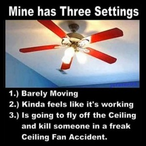 My Fan has 3 settings
