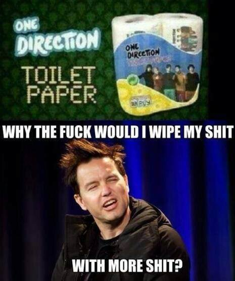 One Direction Toilet Paper