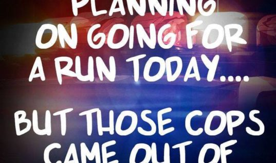 Planning for going on a run