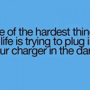 Plug in the dark