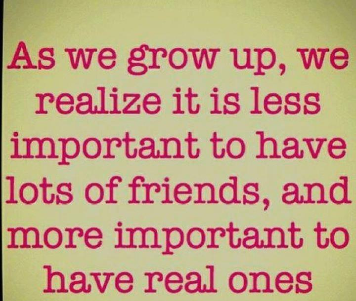 Real Friend Quote