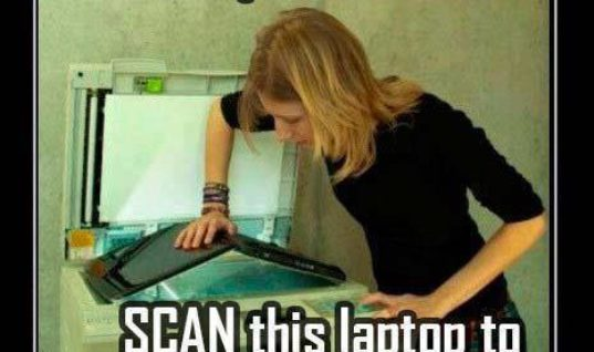 Scan this Laptop