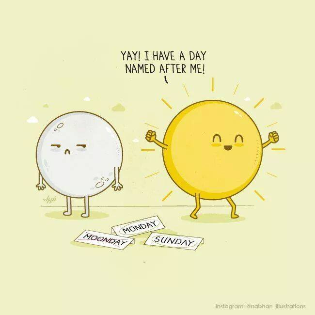 Sun And Moon Quotes: Funny Pictures, Quotes, Memes, Funny Images