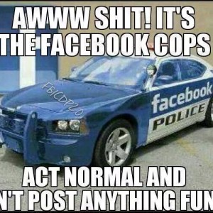 The Facebook Cops